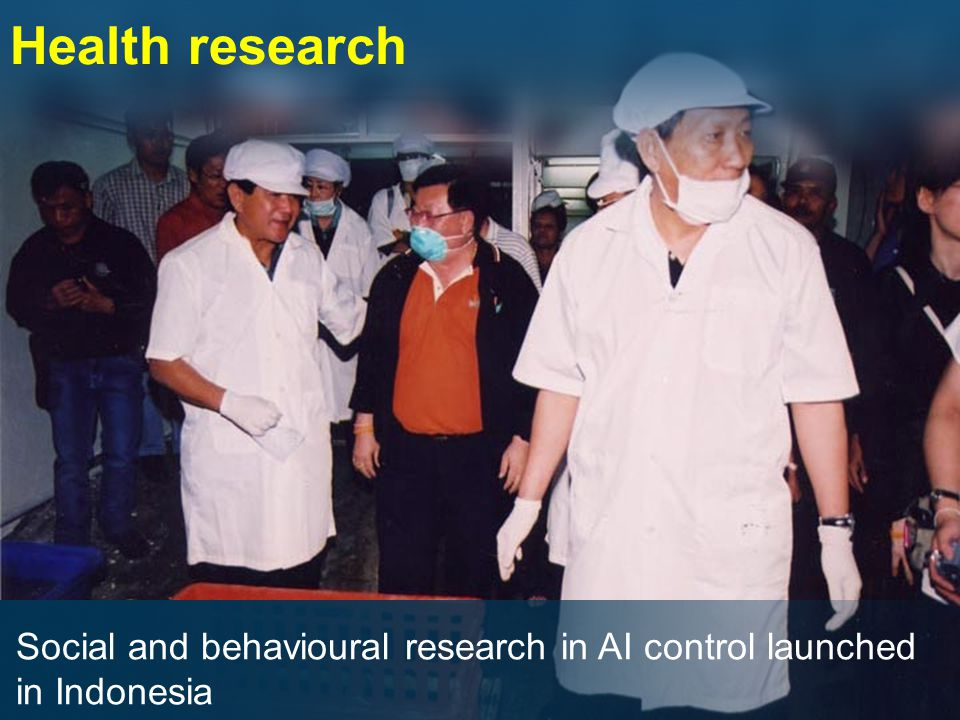 Social and behavioural research in AI control launched in Indonesia Health research