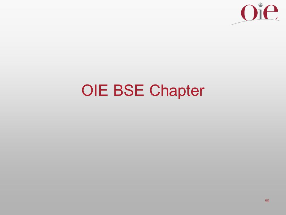59 OIE BSE Chapter