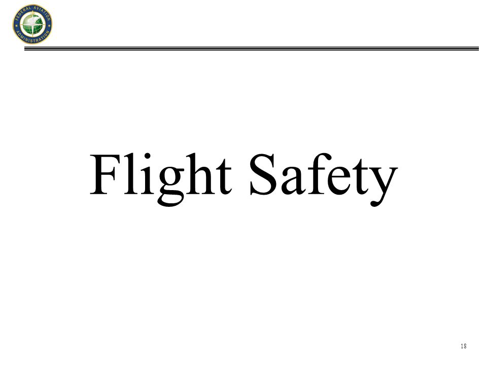 18 Flight Safety