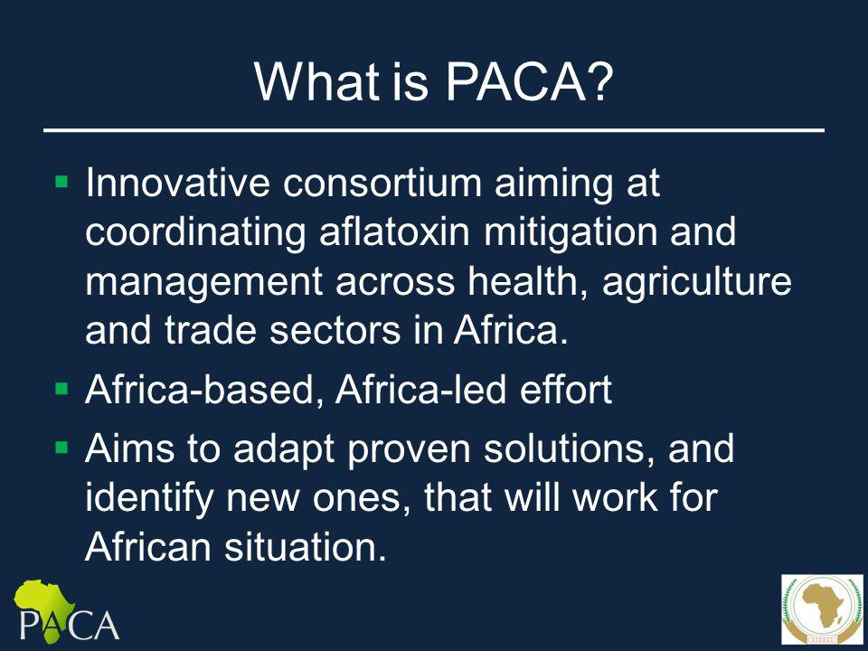 What is PACA.