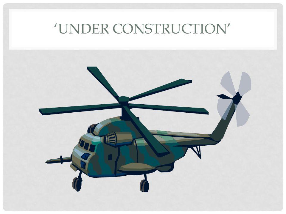 'UNDER CONSTRUCTION'