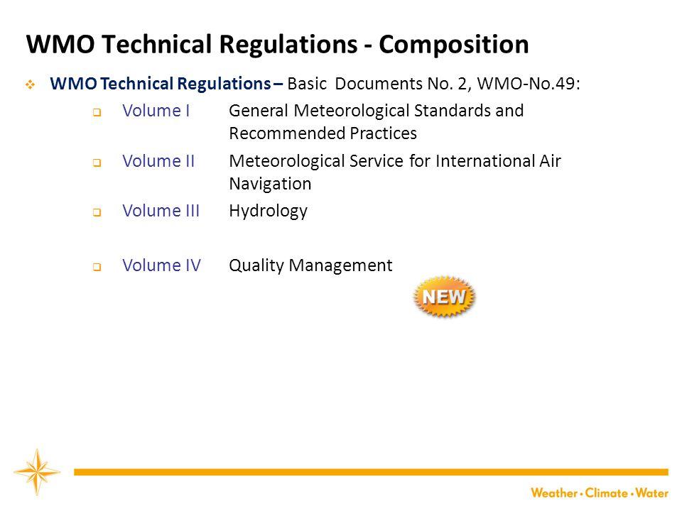  WMO Technical Regulations – Basic Documents No.