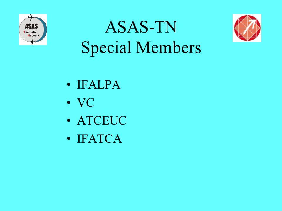 ASAS-TN Special Members IFALPA VC ATCEUC IFATCA