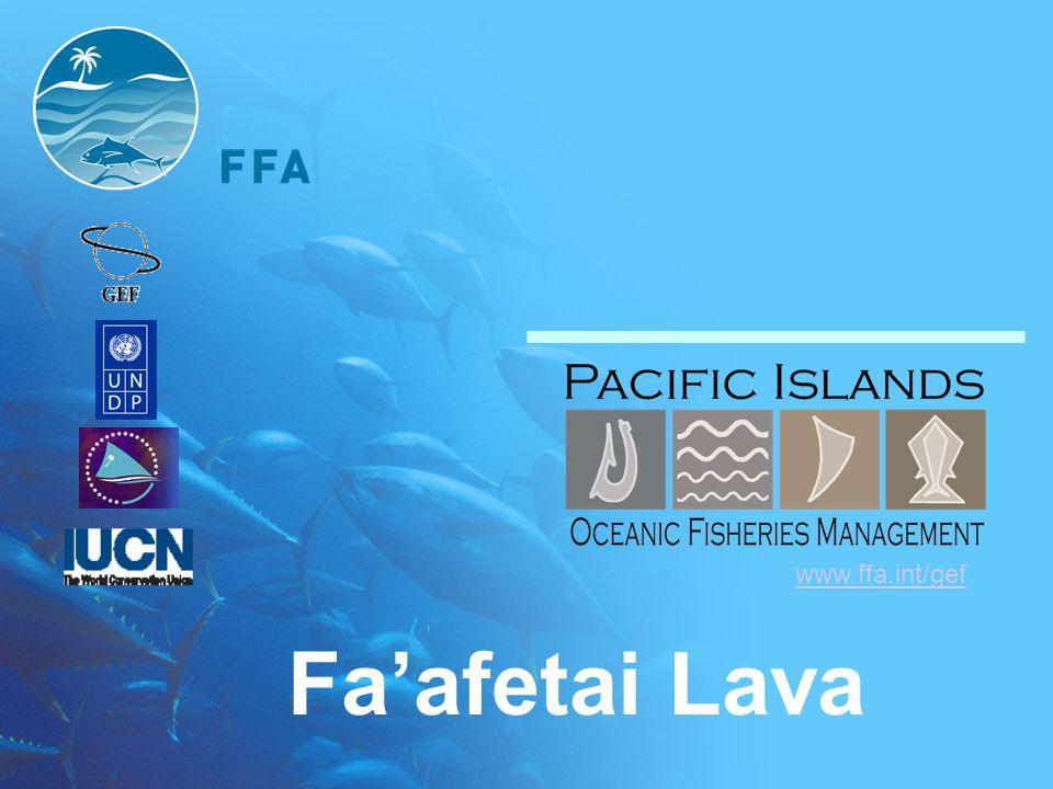Fa'afetai Lava www.ffa.int/gef