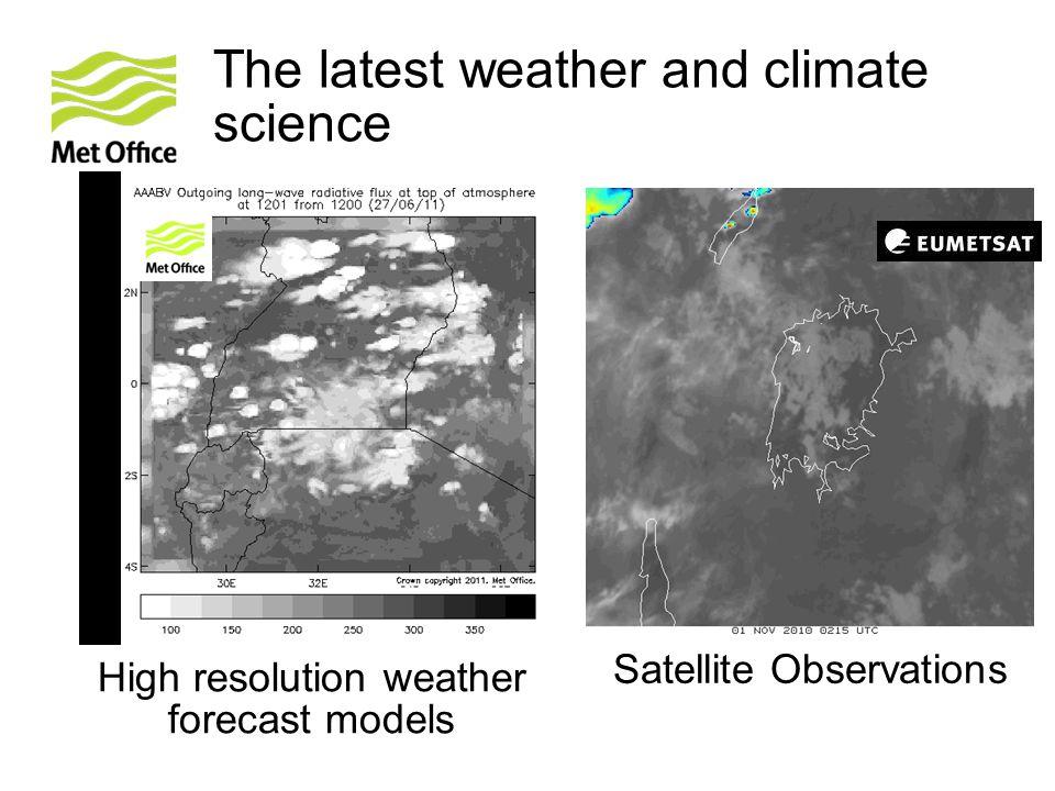 Lake Victoria – lake temperatures Lake surface temperatures are based on satellite measurements.