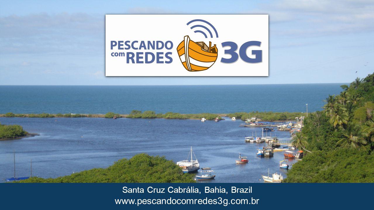 www.pescandocomredes3g.com.br Santa Cruz Cabrália, Bahia, Brazil