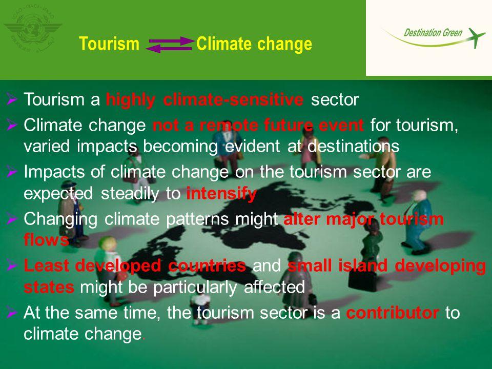 Tourism vulnerability 'Hotspots' (IPCC/eCLAT ) Regional Knowledge Gaps