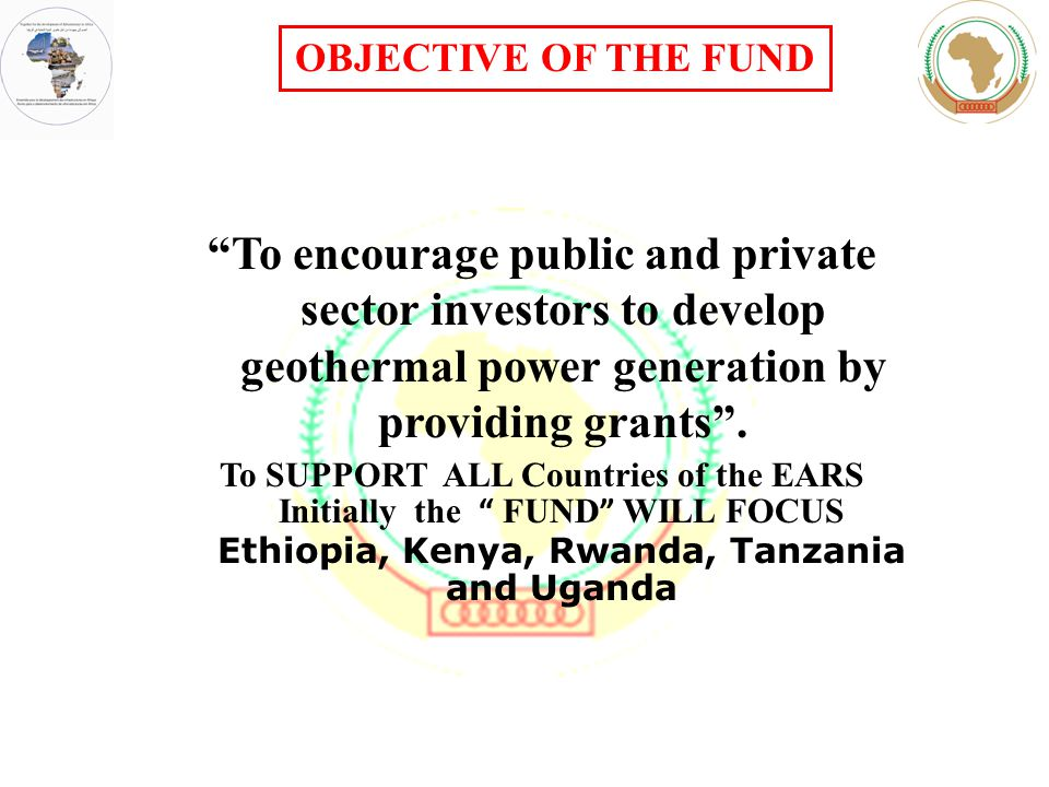 To encourage public and private sector investors to develop geothermal power generation by providing grants .