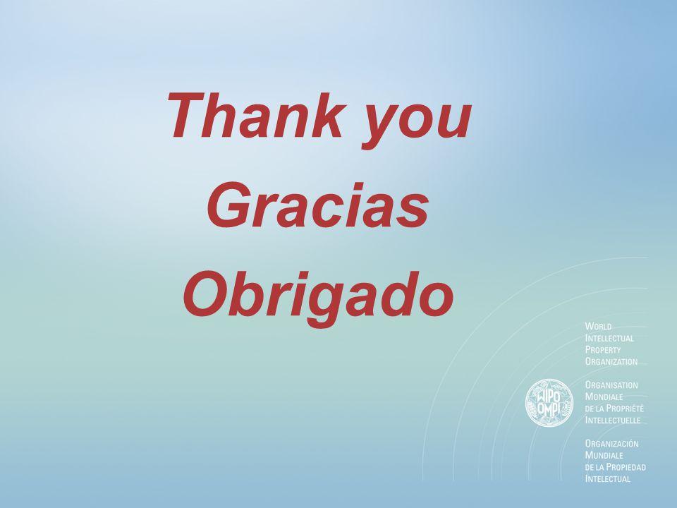 Thank you Gracias Obrigado