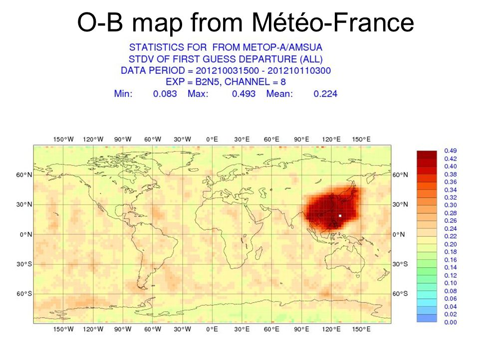 RARS-IG-6 25-26 Oct 2012© Crown copyright Met Office Metop-B Changes to accommodate Metop-B: 1.Check: has your station correctly extracted OBT-UTC correlation parameters from the MMAM.