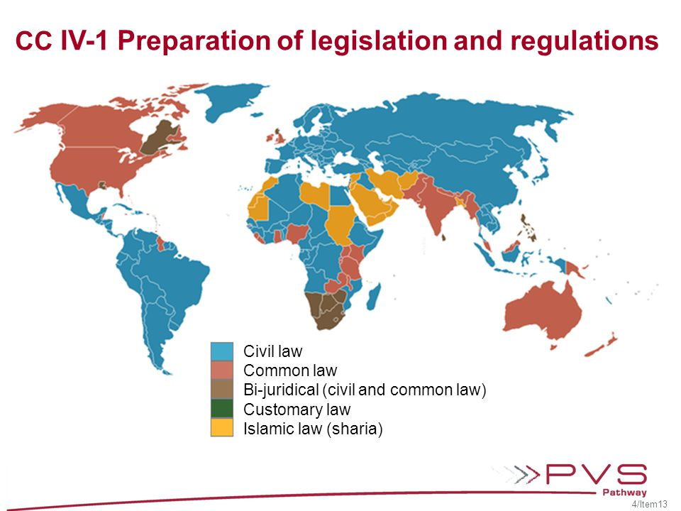 CC IV-1 Preparation of legislation and regulations Background Internal quality principles of legal drafting and legal issues… External quality accessibility, acceptability, and technical, social and economical applicability… 5/Item13