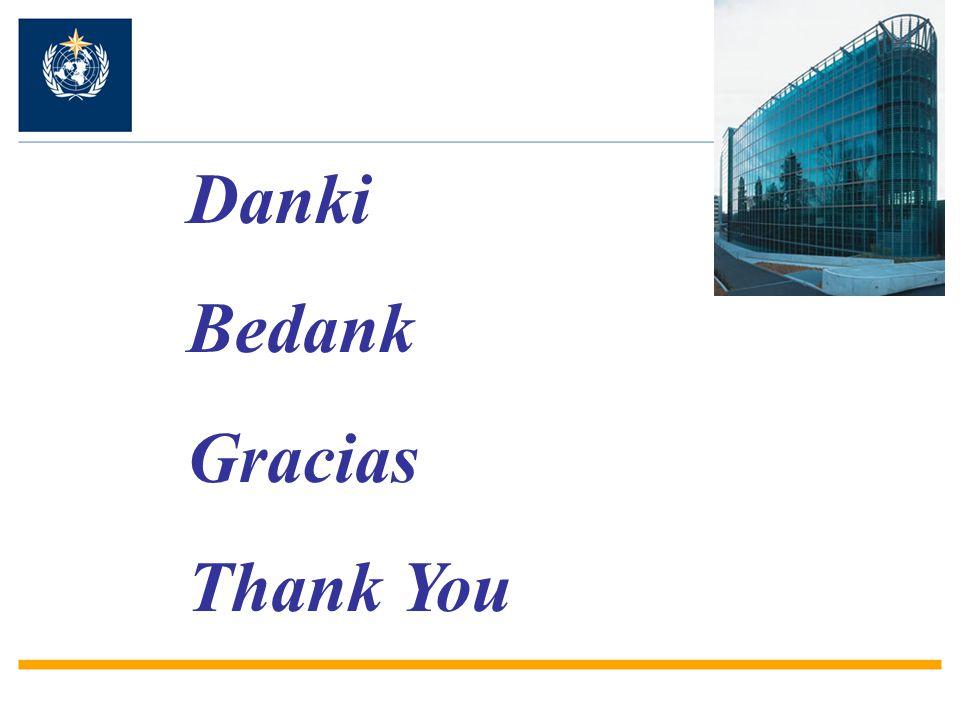 Danki Bedank Gracias Thank You