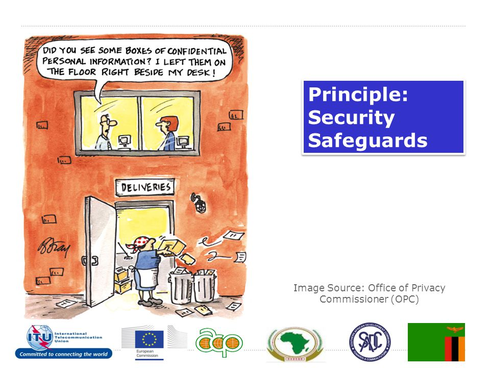 Image Source: Office of Privacy Commissioner (OPC) Principle: Security Safeguards Principle: Security Safeguards