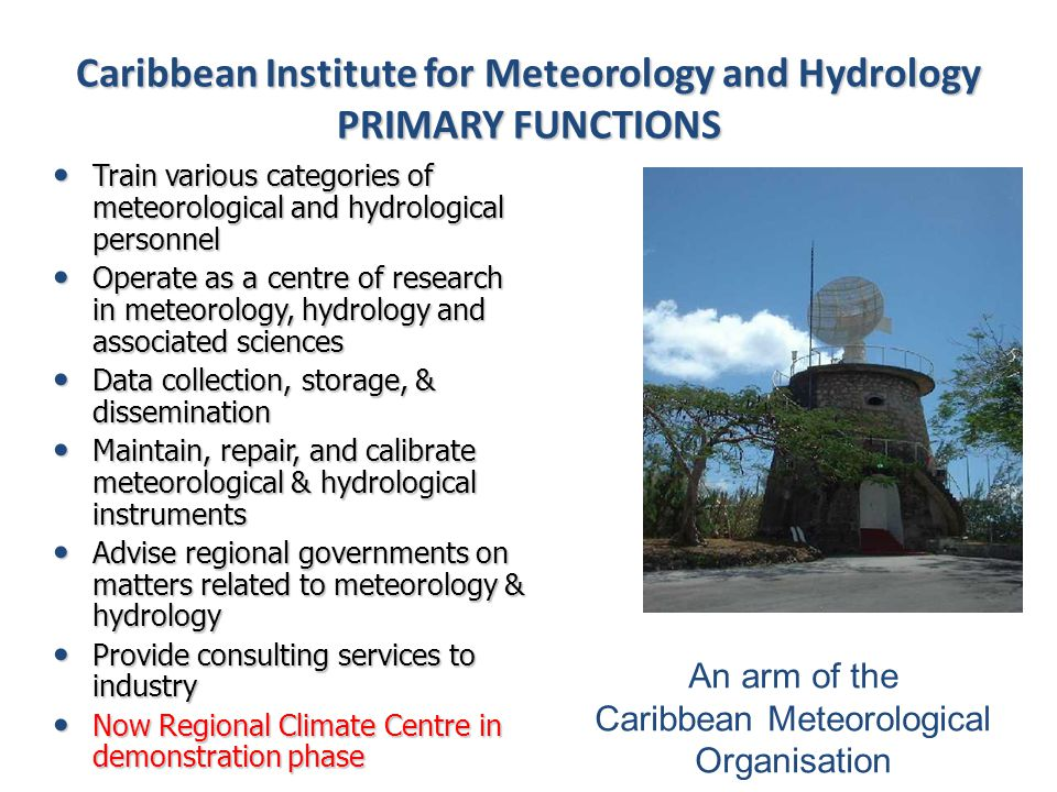 In total contrast to 2010, the 2011 and 2012 dry seasons were forecasted to be wetter than normal in the eastern Caribbean, and that is how they turned out 13