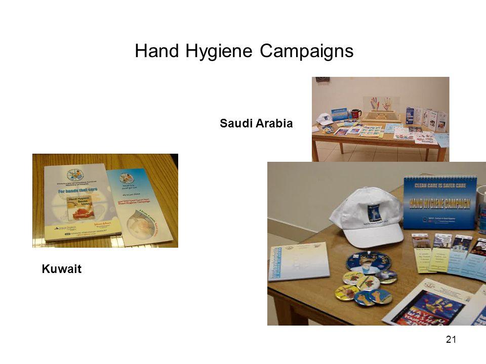 21 Hand Hygiene Campaigns Kuwait Saudi Arabia