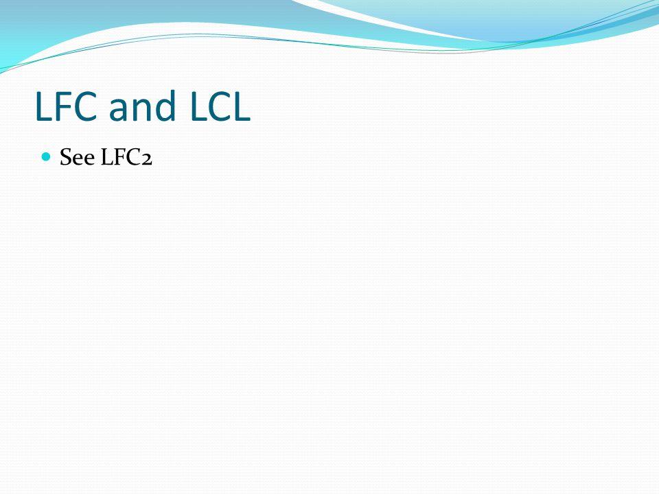 LFC and LCL See LFC2