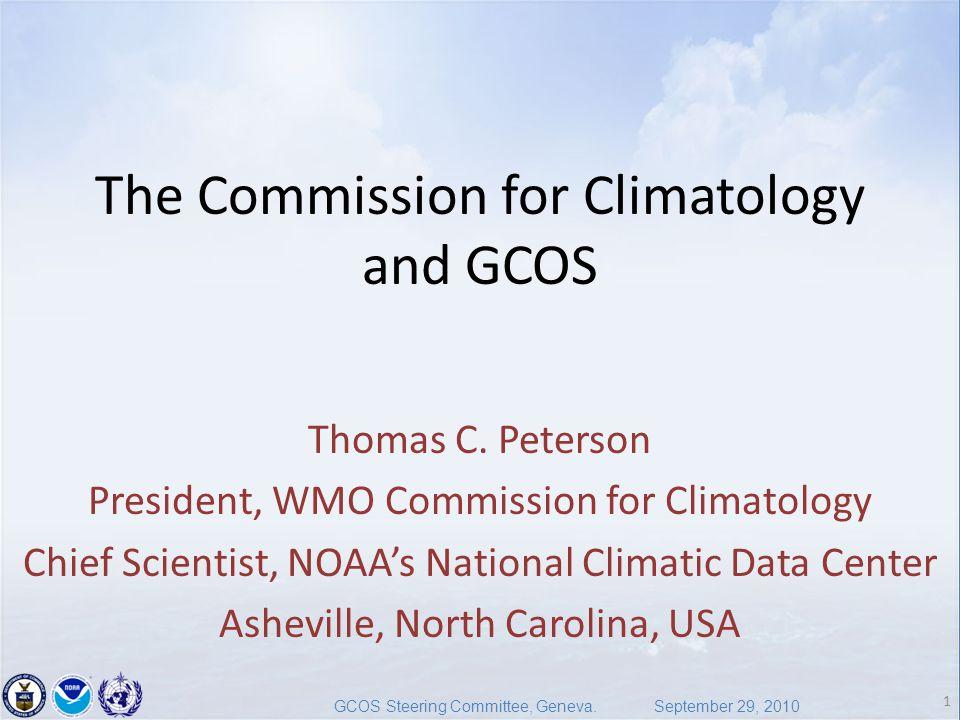 1 GCOS Steering Committee, Geneva.