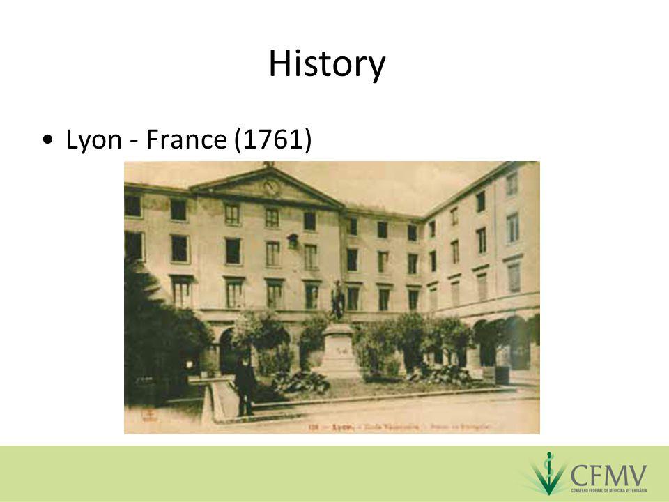 History Lyon - France (1761)