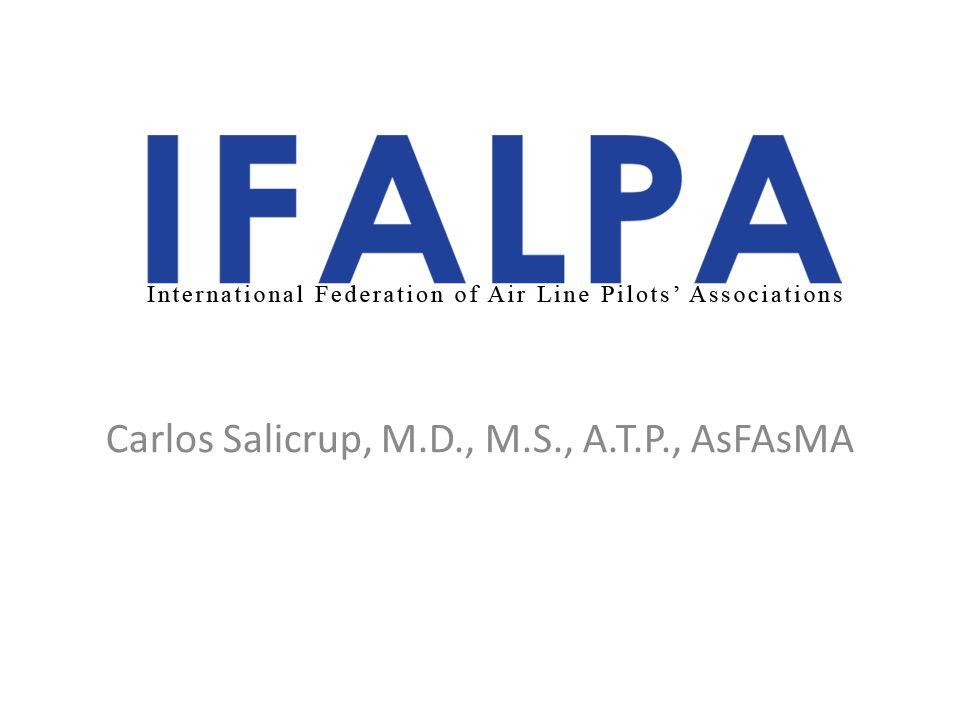 Carlos Salicrup, M.D., M.S., A.T.P., AsFAsMA