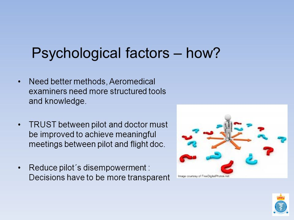 Psychological factors – how.