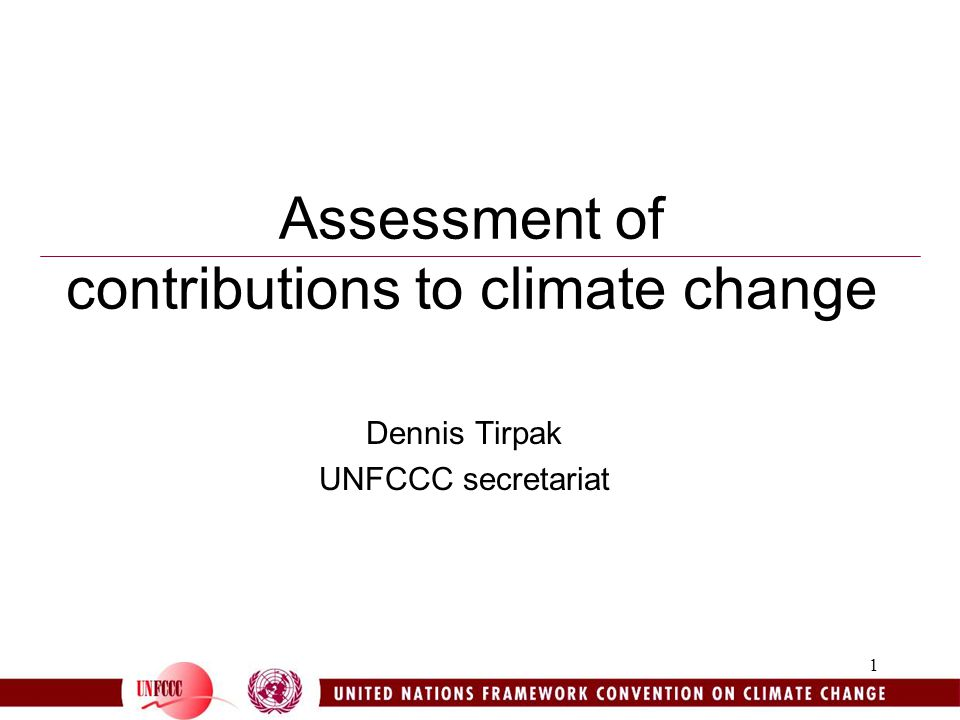 2 Background 1996: Brazil made proposal to share emission reductions among Annex I Parties according to their relative responsibility (their contribution to global average surface temperature increase) 1997: The Kyoto Protocol was adopted, COP refers scientific and methodological aspects of the proposal to the SBSTA 1998:Side event on the margins of COP4 organized by Brazil 1999: Expert meeting on the proposal held in, and organized by, Brazil 1999:SBSTA 11 decides to review the proposal by SBSTA 14 2001: First UNFCCC expert meeting identifies next steps –Additional analyses on indices for contributions to climate change –Calculation by different simple climate models with harmonized input parameters in an open process –Assessment of the influence of different parameters