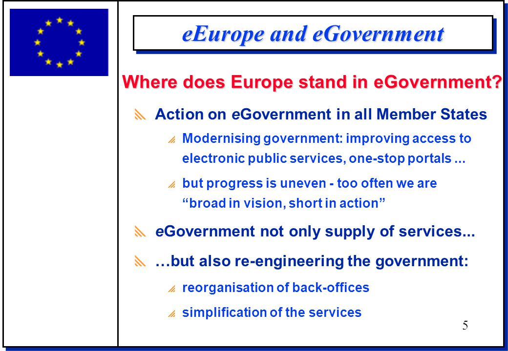What happens in the Member States? 6