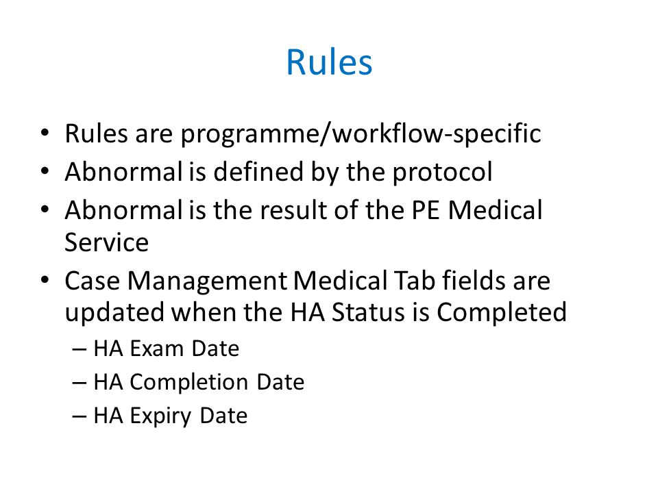 If Class B2 LTBI Evaluation is selected, no selection of Class B1 TB (both Pulmonary and Extrapulmonary) TB Lab Tab – TB Classification Business Rules