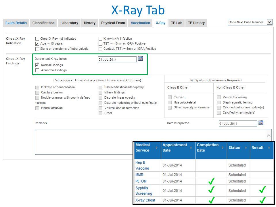 X-Ray Tab