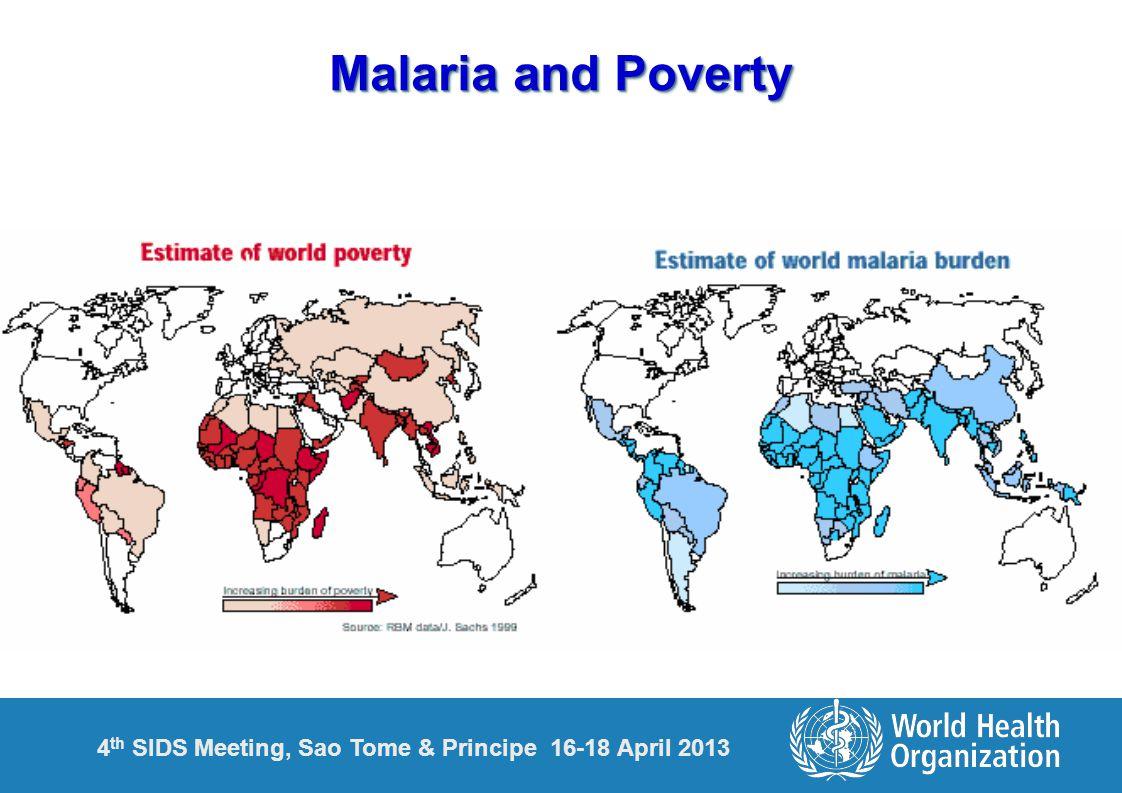 4 th SIDS Meeting, Sao Tome & Principe 16-18 April 2013 Malaria and Poverty