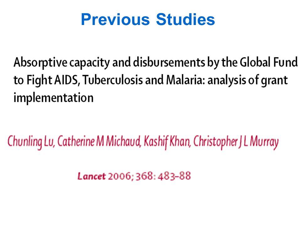 Output Measures Coverage/Effective Coverage - target diseases (HIV, Malaria, TB) - medical interventions for non-target diseases - basic medical services (i.e.