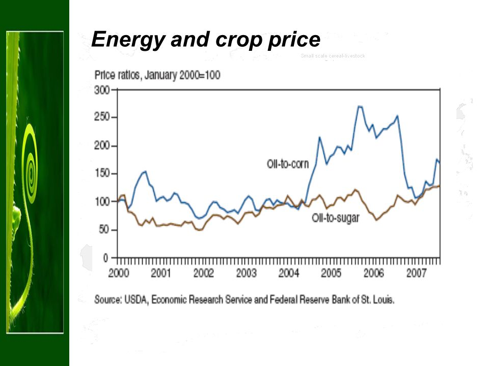 Projected US maize use for bio-ethanol (doubling 2006-2016)