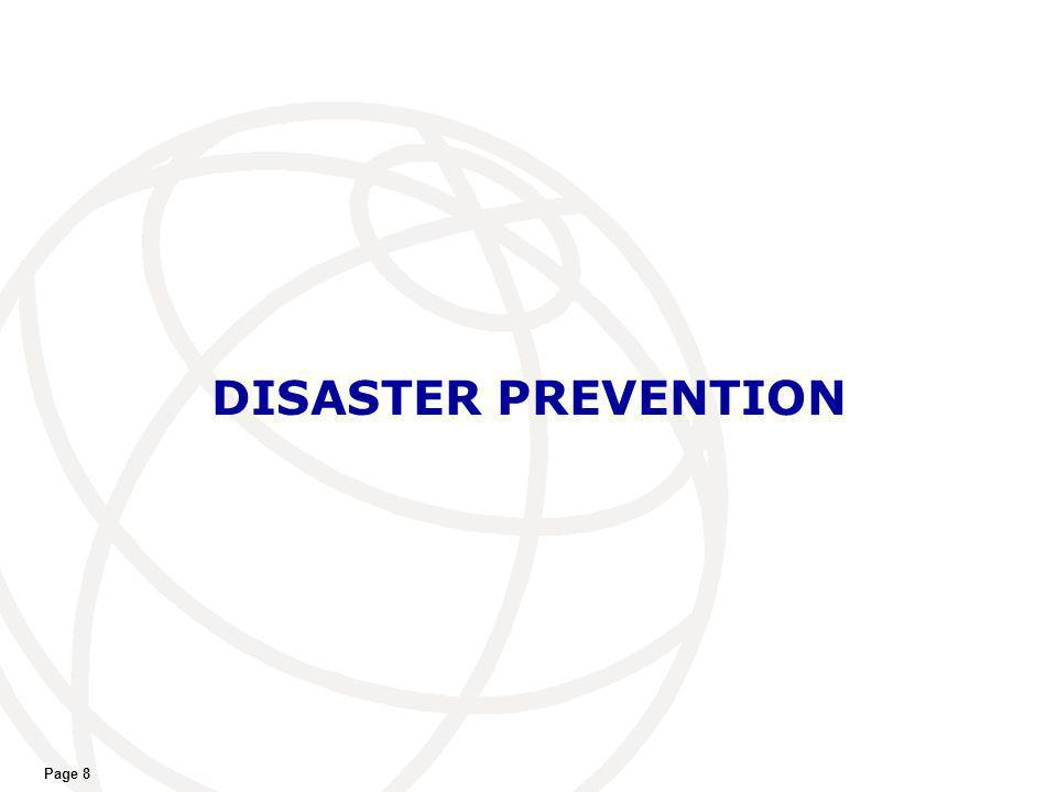 DISASTER PREVENTION Page 8