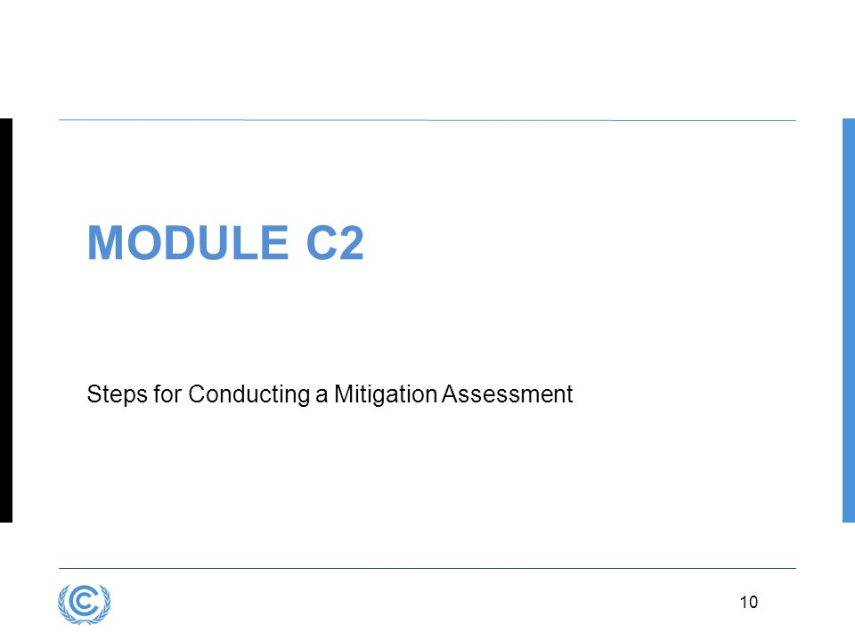 3.10 10 MODULE C2 Steps for Conducting a Mitigation Assessment