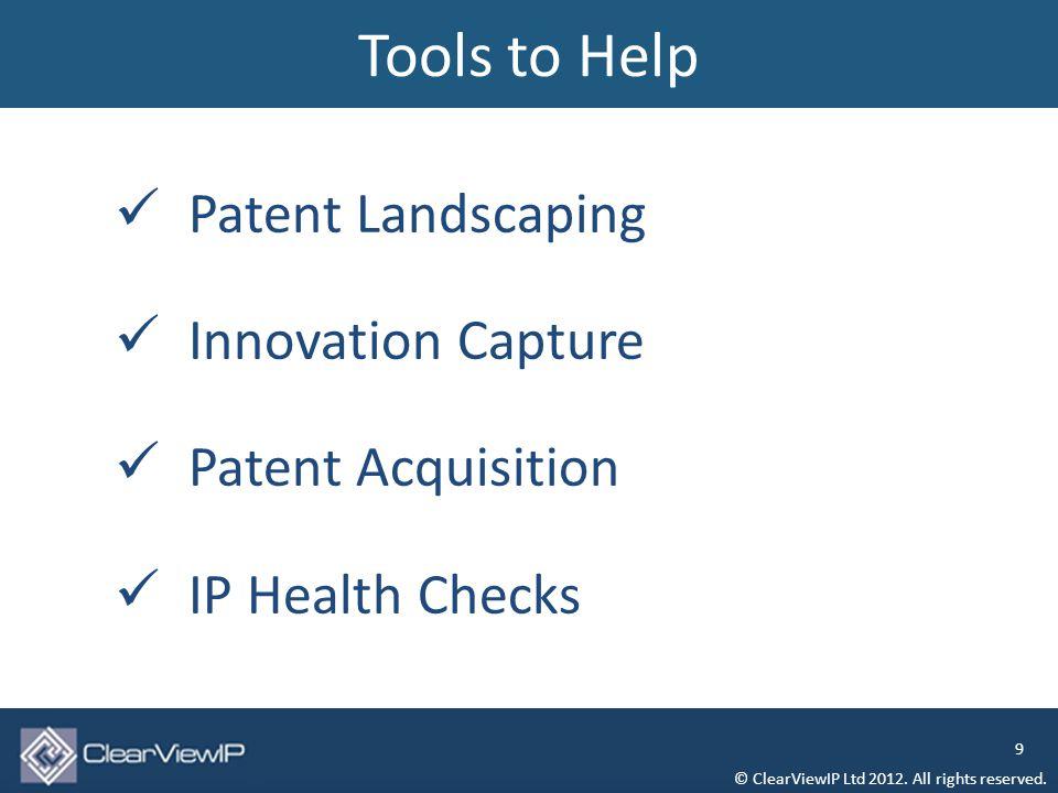 Patent Litigations: High Tech vs.Bio Tech © ClearViewIP Ltd 2012.