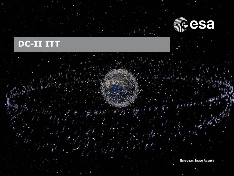 Emmet Fletcher | SSA Precursor Programme | SSA Industry Day | CO-VIII & DC-II Page: 8 European Space Agency DC-II ITT