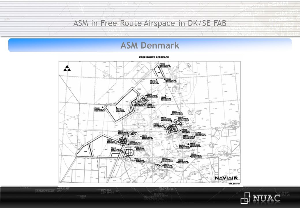 ASM/ATC Sweden ASM in Free Route Airspace in DK/SE FAB Available tools:CDR1/CDR2 & TRA/PCA Flexible Airspace Structures and Procedures: AMC manageable:CDR2 Level 3 tactical ASM/ATC:PCA & CDR1 R-/D-areas are published H24 and activated at Level 3.