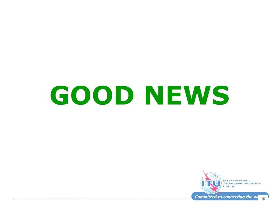 GOOD NEWS 18
