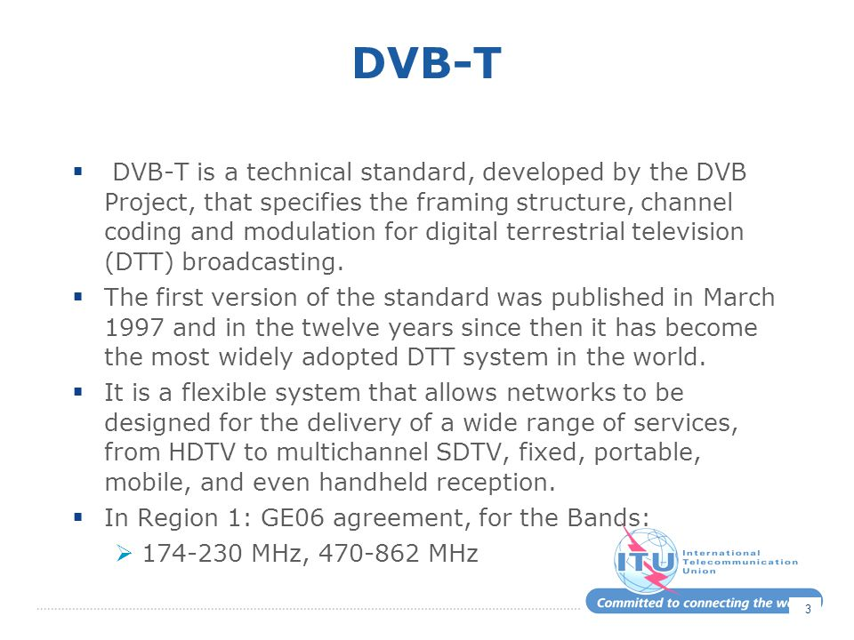 Conclusions on 5.1.3  Normaly under 5.1.3, to be compatible:  The DVB-T2 carrier modes can be using equivalent or higher FFT, but not lower.
