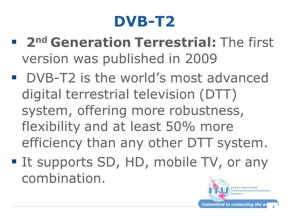 DVB-T 2 DVB-T2.