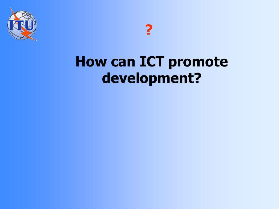 Identifying the Digital Divide Source: ITU