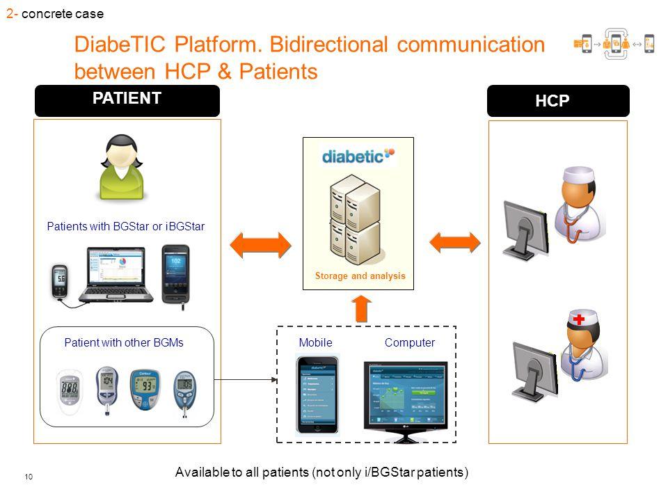 10 DiabeTIC Platform.