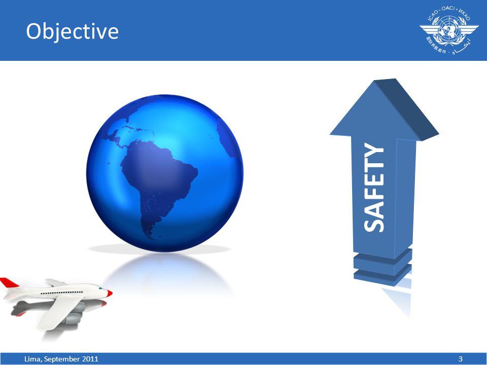 Objective 3Lima, September 2011