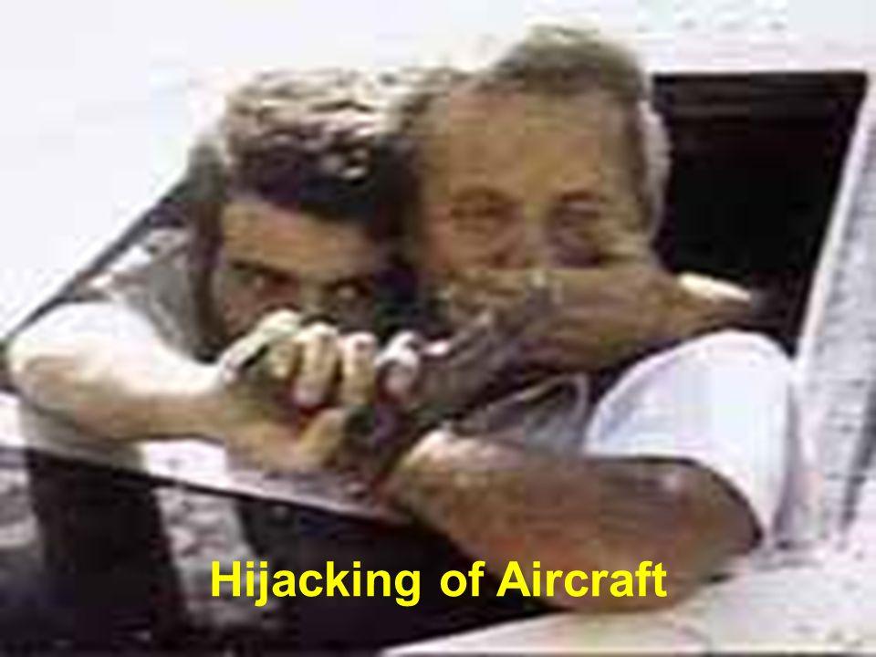 Hijacking of Aircraft