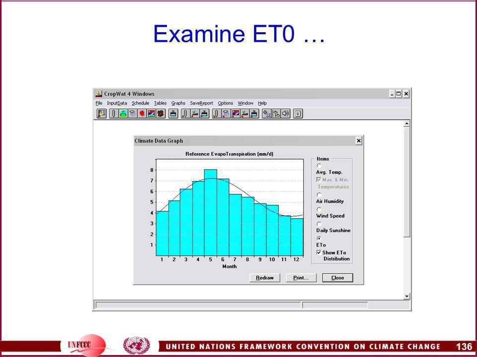 136 Examine ET0 …