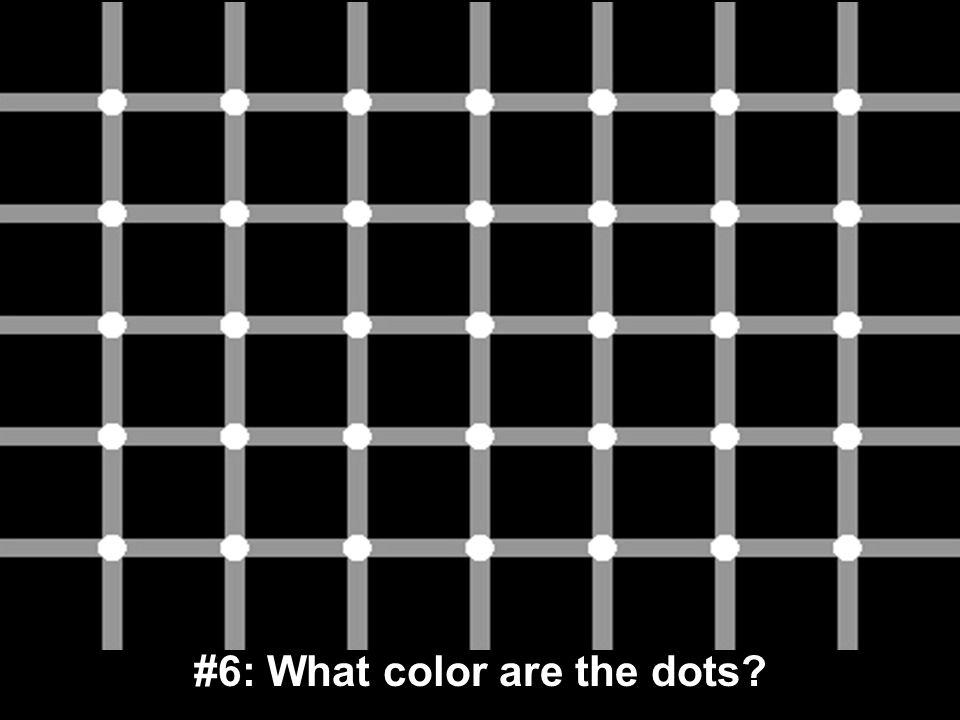 #6: What color are the dots