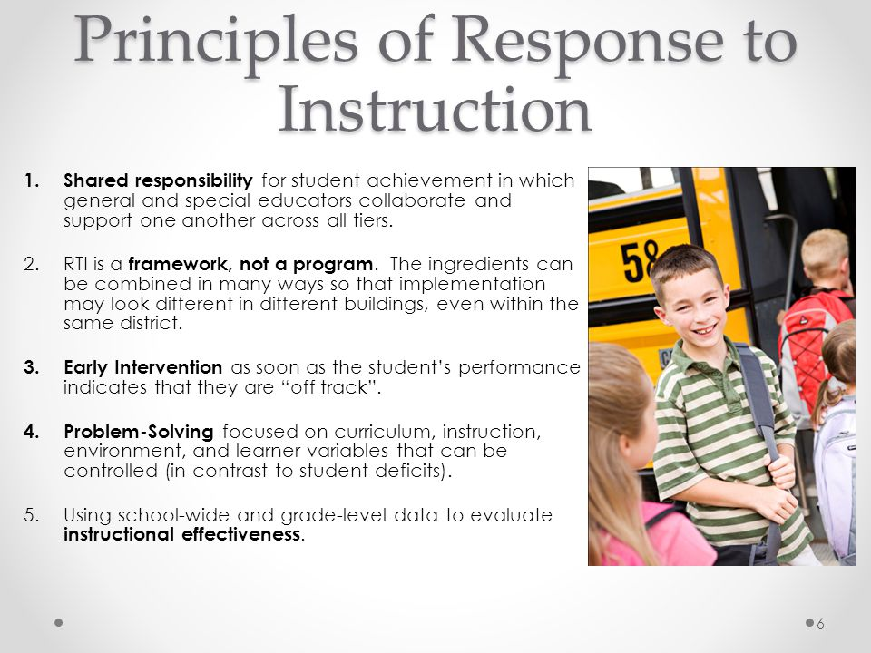 RtI Implementation- Infrastructure Develop clear plans, processes, and procedures that lead to successful implementation and to construct the infrastructure and structural supports necessary to support RTI implementation.