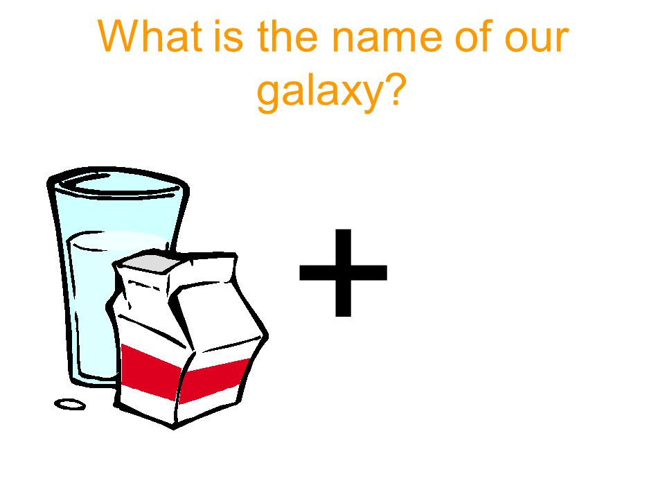 What is the name of our galaxy? +