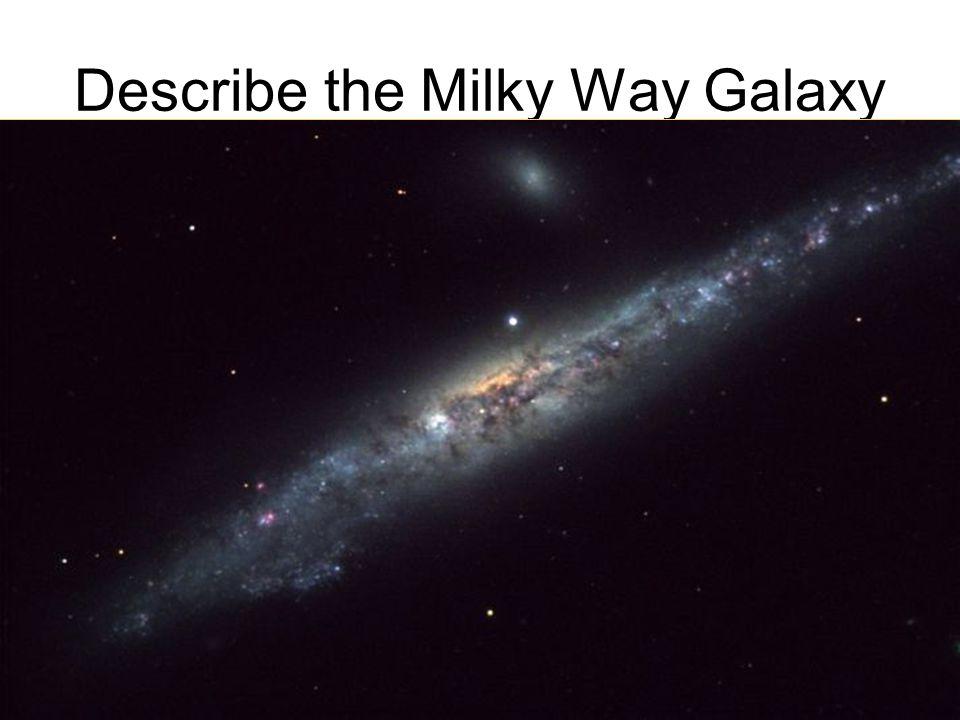 Describe the Milky Way Galaxy