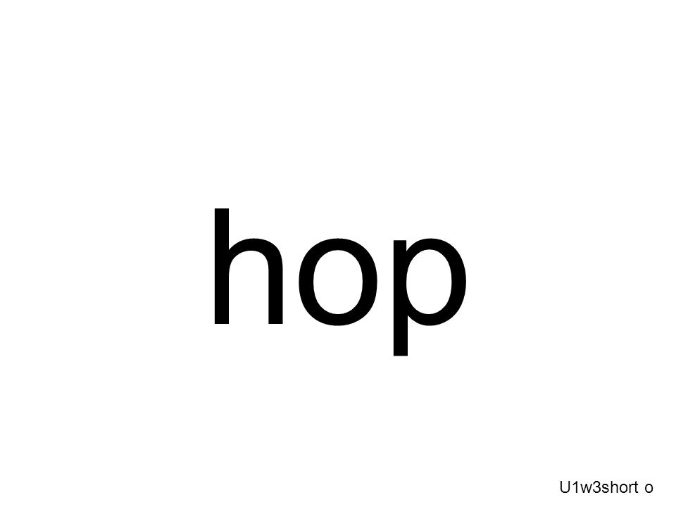 hop U1w3short o