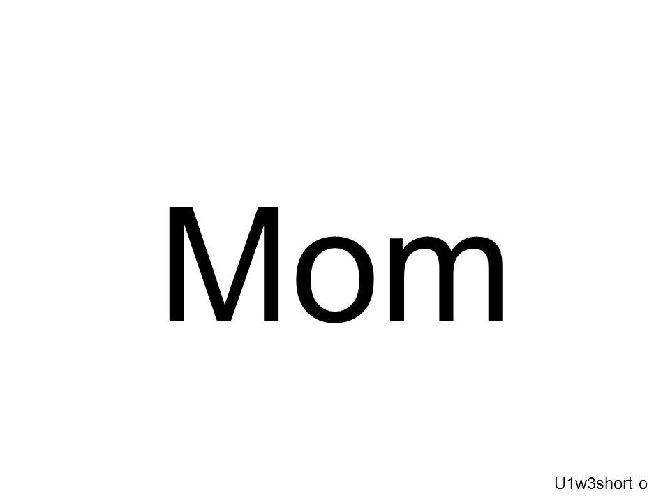 Mom U1w3short o